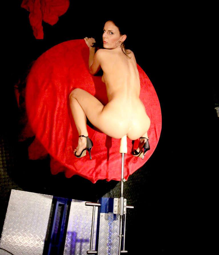 Hot girl riding sex machine, kirsten wilson nude tumbir